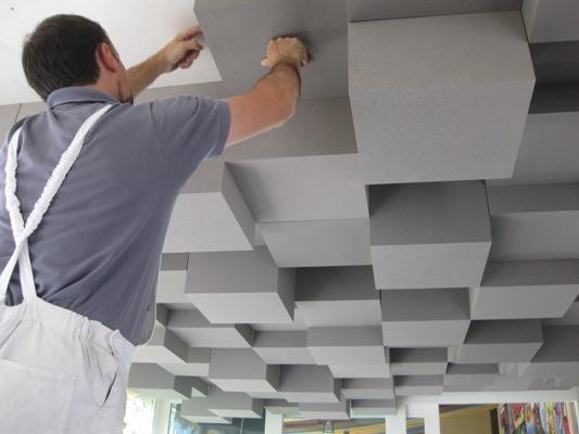 Lavorazioni in polistirolo soffitto in polistirolo for Pannelli in polistirolo per soffitti